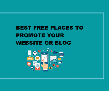 Best Free Places To Promote Your Website Or Blog