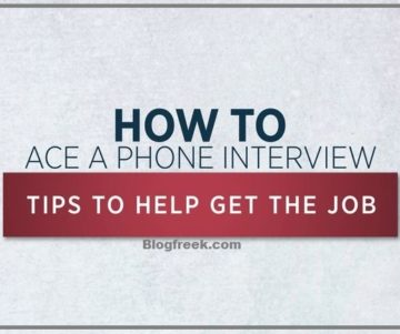 How to Ace Phone Interview