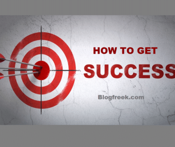 How to get Sucess