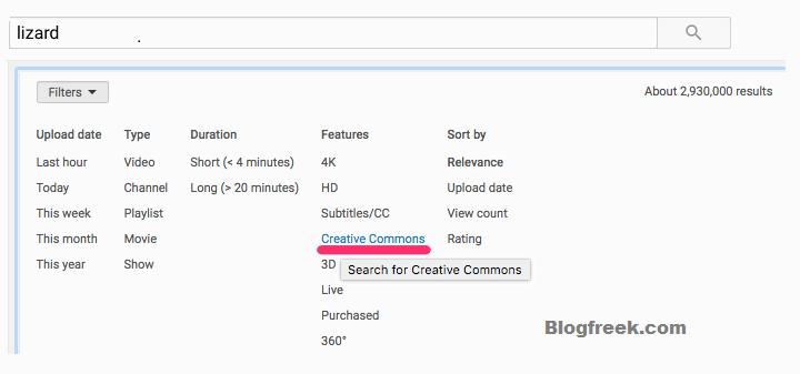 Creative Commons YouTube